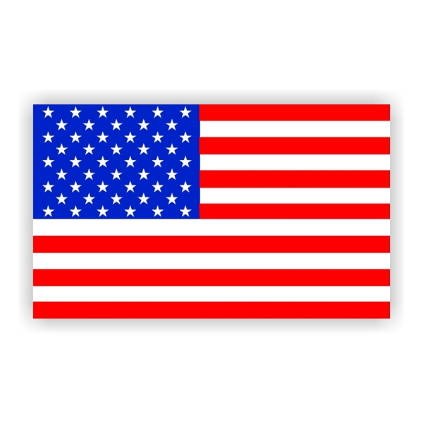 American Flag Vinyl Decals