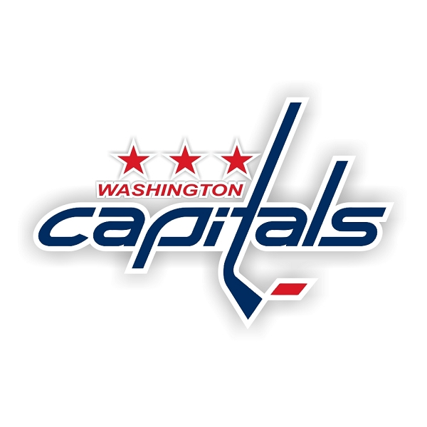 Washington Capitals D Vinyl Decal Sticker 4 Sizes