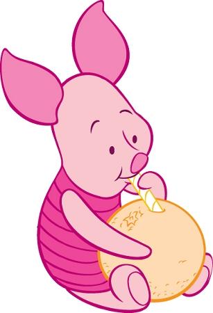 Piglet Winnie The Pooh Die Cut Vinyl Decal Sticker